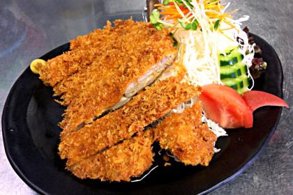 北海道産チキンカツ定食