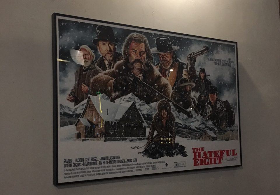 洋画ポスターthe hateful eight